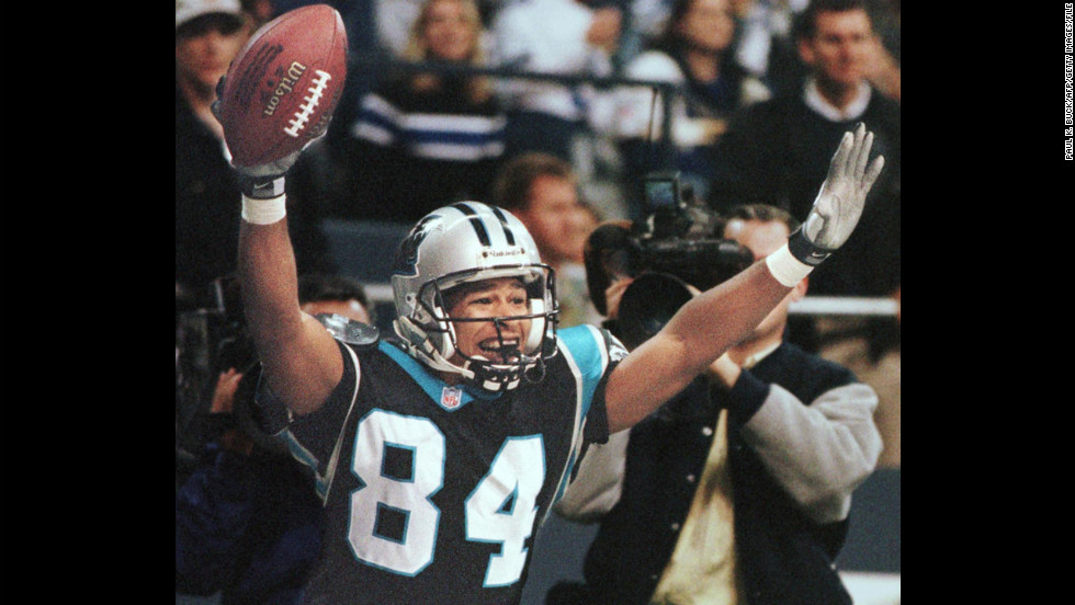 "<a href=""http://sportsillustrated.cnn.com/vault/article/magazine/MAG1018022/index.htm"" target=""_blank"">Rae Carruth</a>, who was a wide receiver for the Carolina Panthers, became the first active NFL player ever charged with first-degree murder. His pregnant girlfriend, Cherica Adams, was killed in December 1999, and prosecutors said he arranged for her to be killed in a drive-by shooting. Carruth was eventually convicted of conspiring in her murder, and he is now in prison. The unborn child, a boy, survived."