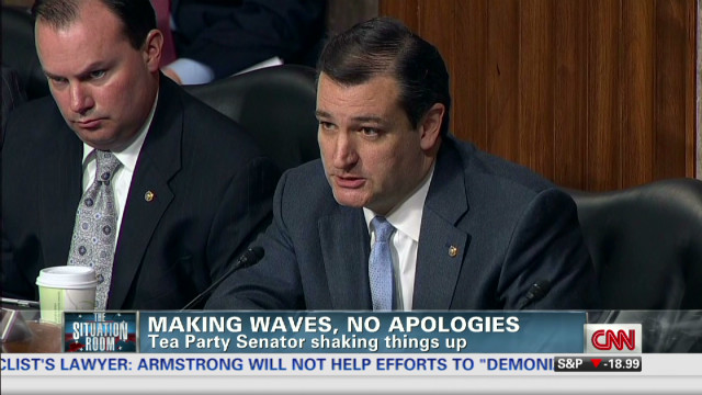 Cruz makes waves with no apologies