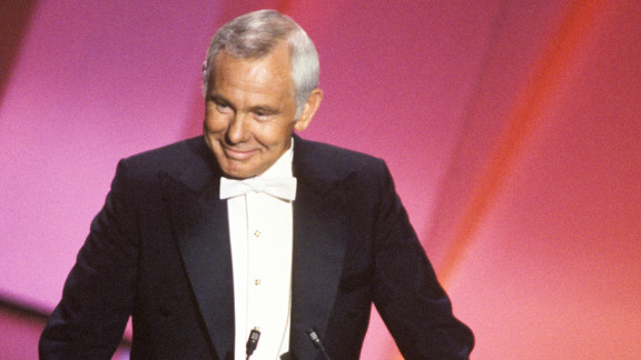 Johnny Carson, the king of late night, hosted the Academy Awards five times between 1979 and 1984. Carson never failed to make the audience laugh.