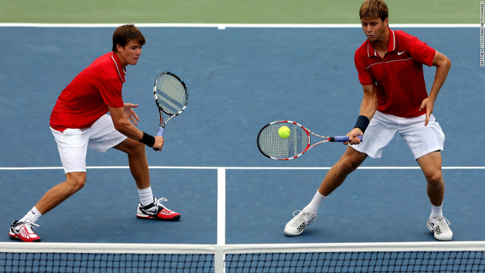 The Harrison brothers are being tipped as the next big U.S. hopes. Ryan, right, has already won more than $1 million in prize money and represented his country in Davis Cup, while Christian -- two years younger at 18 -- is ranked 392nd.