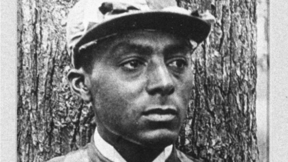 """Isaac Murphy was the first jockey to win three Kentucky Derbies -- in 1884, 1890, 1891 -- and the first millionaire black athlete. """"They came at a time when blacks were invisible,"""" Drape added."""