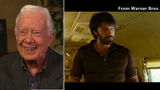 Jimmy Carter: 'Argo' a great drama