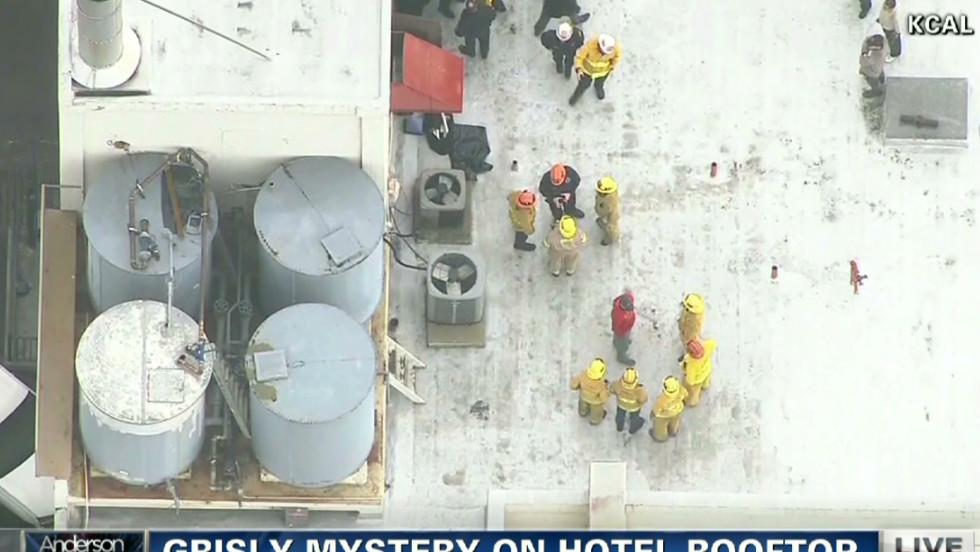 Online gehen exzellente Qualität heißes Produkt Woman's body found in hotel's water tank