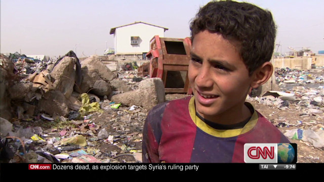 Iraq's dumpster children