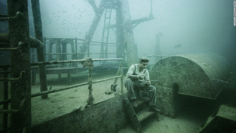 Sunk in 2009, the Vandenberg is now the second-largest artificial reef in the world, boasting a diverse range of marine animals and plant life.