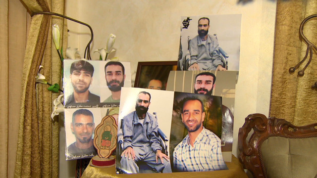 Palestinian prisoners on hunger strike