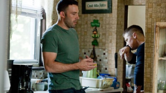 "Affleck wrote, directed and starred in 2010's ""The Town."""