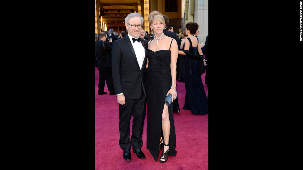 Steven Spielberg and wife Kate Capshaw
