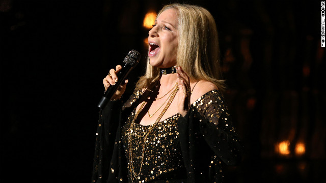 Barbra Streisand performs onstage during the Oscars held at the Dolby Theatre on February 24, 2013 in Hollywood, California.