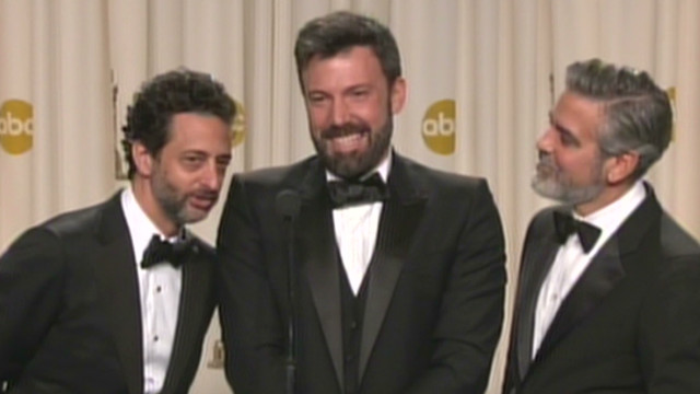 Affleck on 'Argo' win: Is this a prank?