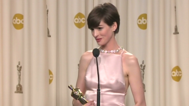 Hathaway: Oscar dream came true