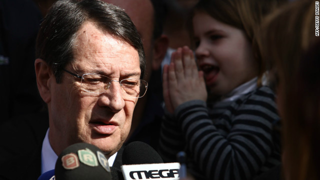 Anastasiades' victory was a relief to most EU leaders, including Germany's Angela Merkel