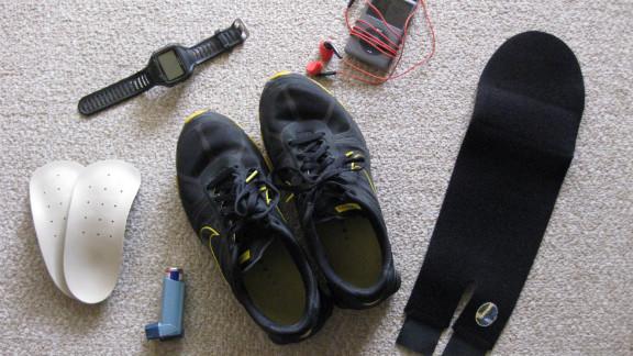 Stacy Mantooth now has the gear he needs to train for the Nautica Malibu Triathlon.
