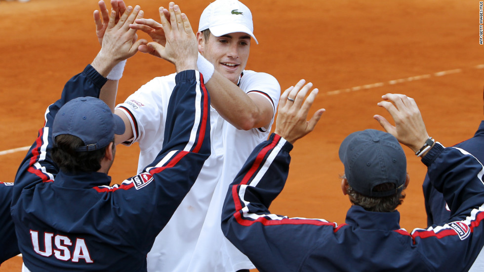 Isner is now the top ranked American player in the world and has become an important part of the country's David Cup team. He recently recorded victory over 17-time grand slam winner Roger Federer when the USA took on Switzerland.