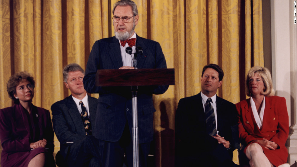 After leaving office in 1989, Koop continued to press for health care reform. President Bill Clinton and first lady Hillary Clinton recruited him in 1993 to help promote the administration's proposal for universal health insurance.