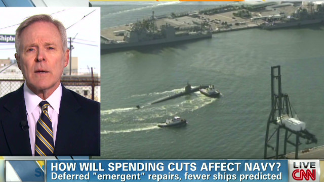 Navy Secy. talks impact of budget cuts