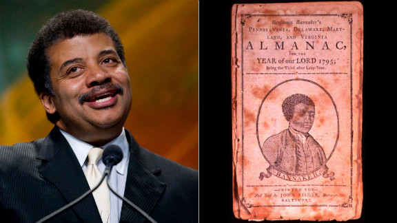 A self-taught scientist and astronomer who hobnobbed with George Washington and Thomas Jefferson, Benjamin Banneker was a free black American who was a prolific almanac writer. He based his almanacs on his own astronomical, tidal and bee movement calculations. Popular astrophysicist Neil deGrasse Tyson also loves science. He is the director of the Hayden Planetarium, won the NASA Exceptional Public Service Medal and frequently appears on satirical news and late-night talk shows to discuss the universe.