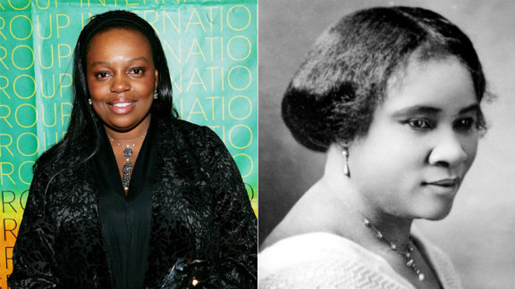Madam C. J. Walker, right, was a beauty pioneer who became a self-made millionaire (and possibly the first African-American woman millionaire) from her home-made shampoo and scalp remedies. She toured the country lecturing and educating others about her grooming techniques and hair care formulations. Make-up artist Pat McGrath, who is British rather than African-American, is the heir to Walker's creativity and entrepreneurial spirit. Her signature use of color has caught the attention of designers like Jil Sander and photographers such as Steven Meisel and Helmut Newton. She is the global creative design director for Procter and Gamble, in charge of make up brands like Cover Girl and Max Factor.