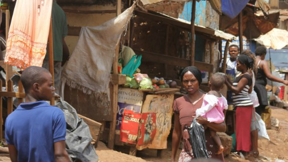 In Kampala's slums there are many desperate families, and rights campaigners fear there are not enough safeguards to protect vulnerable children from unscrupulous adoption agencies.