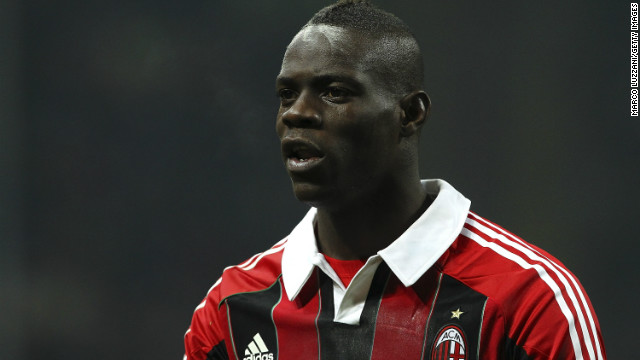 Mario Balotelli joined AC Milan from English champions Manchester City in January.