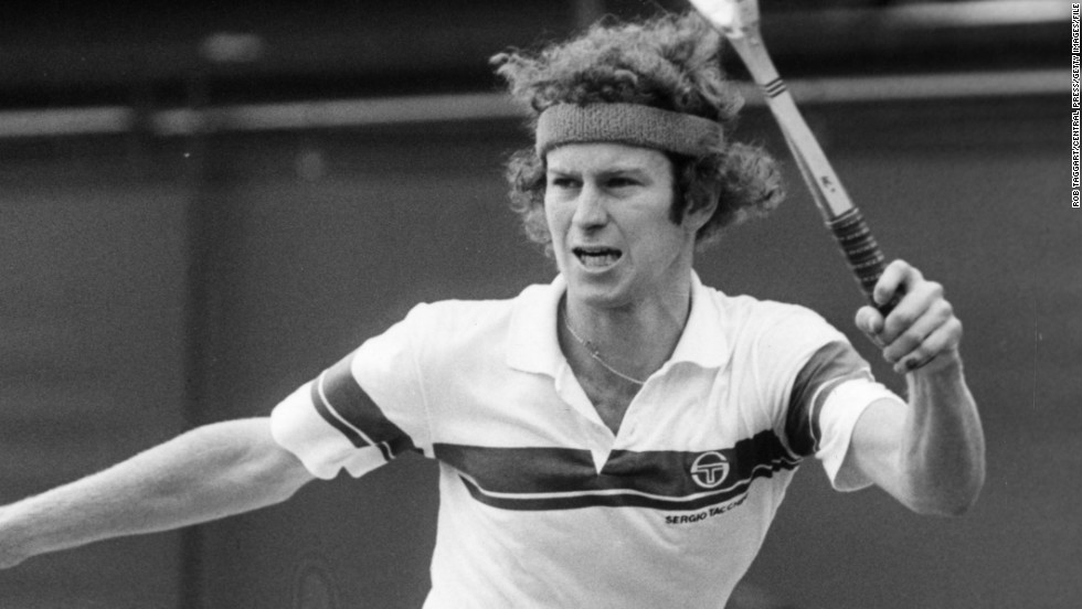By 1981, McEnroe got his golden moment against his hero and rival in the Wimbledon final.