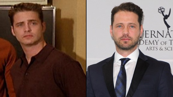 """On August 28, former """"Beverly Hills, 90210"""" star Jason Priestley turns 45. In his years away from the Peach Pit, the actor has appeared in series such as """"Tru Calling"""" and """"Call Me Fitz,"""" released a memoir, and recently directed episodes of NBC"""