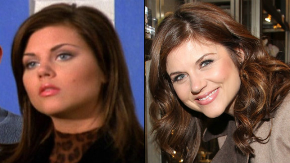 """Tiffani Thiessen dropped the """"Amber"""" from her name and traded in Valerie Malone for Elizabeth Burke, her character on USA"""