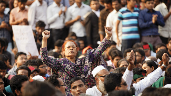 Since February 5, tens of thousands have thronged the Dhaka intersection to demand the death penalty for convicted war criminals.