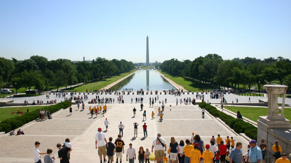The National Mall, its monuments and memorials provide Washington with 17,000 trees. The nation's first urban park, Rock Creek Park, is also in D.C., which boasts more than 7,000 acres of parkland within its limits. The District's trees provide $3.6 billion in structural value to the city, and save $2.6 million in energy costs each year.