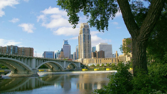 Minneapolis is one of the fittest and cleanest cities in the country and one of the most forested. Every six blocks, there's a park, offering residents the opportunity for off-road cycling, hiking, canoeing and swimming. The city was one of the first to use the U.S. Forest Service's iTree assessment tool to determine the benefits of its urban forest. As a result, Minneapolis can boast an urban forest with a structural value of $756 million.