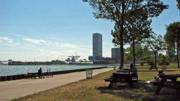 Glaciers, Lake Michigan and the confluence of three rivers have put Milwaukee at a great geological advantage as an urban forest.  But the challenges of Dutch elm disease and the emerald ash borer have led the city to implement diversification plans, as well as develop comprehensive inventories of its trees. As a result, Milwaukee maintains 25 acres of park per 1,000 residents, which provides the city with $15 million in stormwater savings and removes 496 tons of pollution a year.