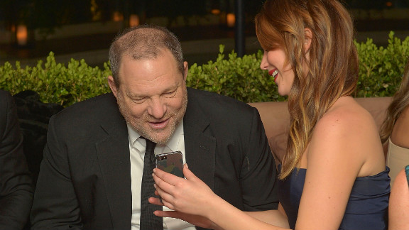 "You don't get to be the ""It Girl"" without people taking notice and other celebs seem to genuinely like her. A few stars even tweeted support before and after she won the best actress Oscar. Here, she hangs out with producer Harvey Weinstein at the Weinstein Co.'s SAG Awards After Party in January 2013."