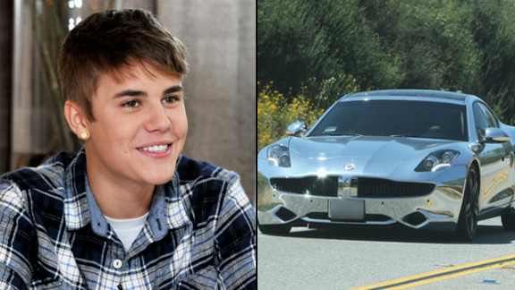 When you're Justin Bieber, you get a $100,000 electric sports car for your 18th birthday -- and from Ellen DeGeneres on her talk show, no less.