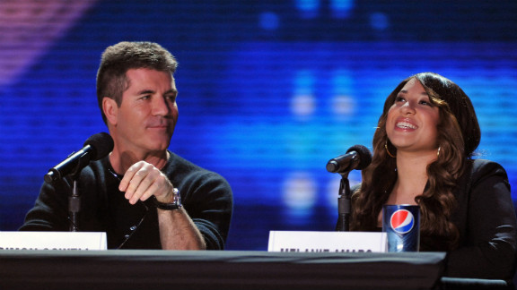 """Simon Cowell outraged his """"Britain's Got Talent"""" audience when at the show's audition he refused to vote with his fellow judges to let the well-received teenage duo The Elite move to the next round of competition."""