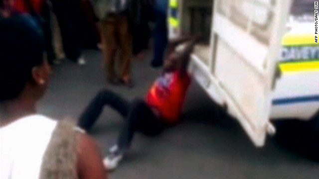 S. African police violence sparks outrage