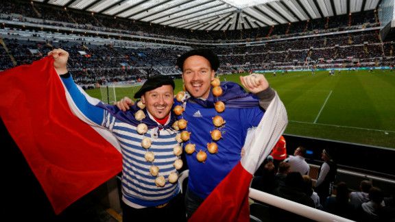 There were seven French players named in the matchday squad for Newcastle's win over Southampton, while African stars Papiss Cisse and Cheik Tiote are both French speakers.  The home fans have been delighted with the impact of the new arrivals with the team beginning to turn its season around.