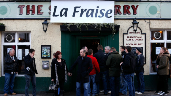 """The locals have even renamed their own pub """"La Fraise"""" instead of its original name, """"The Strawberry.""""  Newcastle is more famous for its Brown Ale than its Chardonnay and Merlot."""