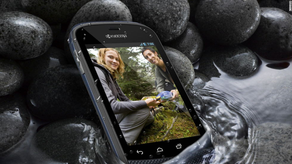 Kyocera says its Hydro phone can withstand being in up to 3 feet of water for 30 minutes.