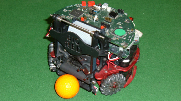 D'Andrea was system architect of the Cornell Robot Soccer Team which won the RoboCup (an international robotics competition) four times.