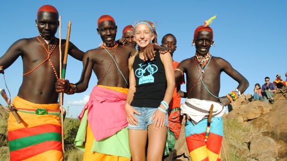 The African marathon benefited girls' education in Kenya.