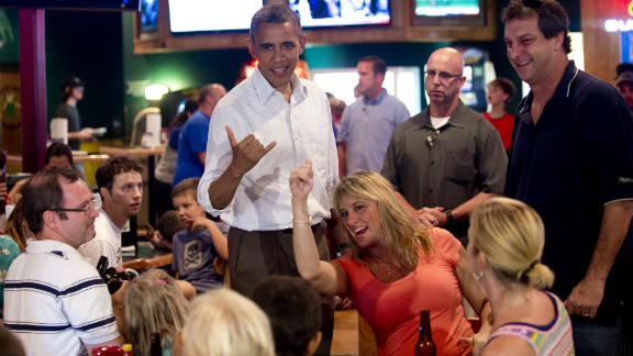 "President Barack Obama, a native of Hawai, makes the Hawaiian symbol known as the ""shaka"" during a visit to a restaurant. While informal signs such as this are commonly seen, a genuine Hawaii Sign Language has been documented by researchers in Manoa."