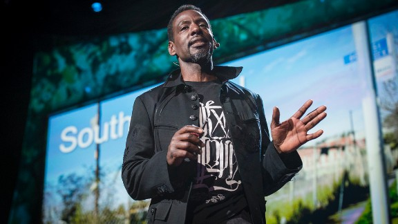 """Ron FInley is organizing efforts to grow healthy food in the """"food desert"""" of South Central Los Angeles."""