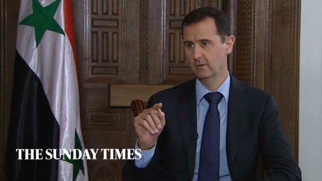 Al-Assad's harsh words for the West