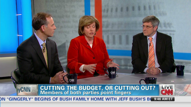 Cutting the budget, or cutting out?