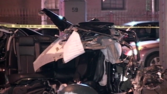 Baby survives after crash kills parents