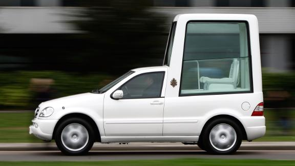 This version of the Popemobile was used in September 2010 during the pope