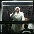 Popemobile lights inside