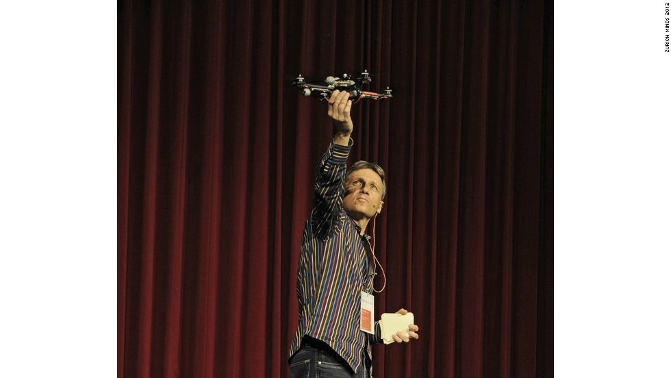 Professor Raffaello D'Andrea has devoted his academic life to building better, more intelligent machines. He spent ten years at Cornell University before joining the Swiss Federal Institute of Technology in Zurich (ETH Zurich) in 2007. He was instrumental in the setting up of the university's Flying Machine Arena -- a testbed for autonomous vehicles which are capable of learning incredible tricks.