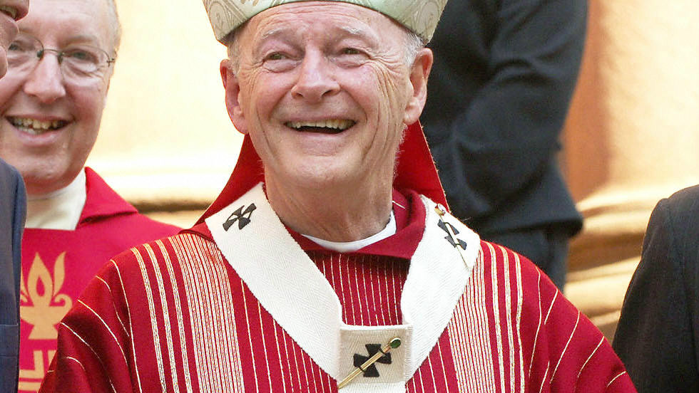 Cardinal Theodore McCarrick, the retired archbishop of Washington, appears in this 2005 photo.