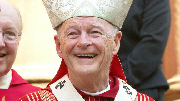 Cardinal Theodore McCarrick, retired archbishop of Washington, in 2005 photo.